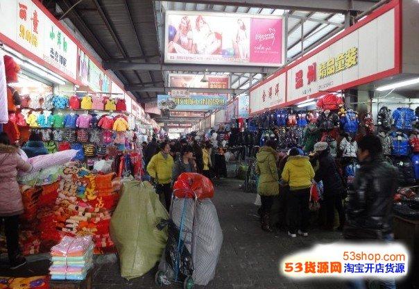 还有在青岛中国即墨服装批发市场