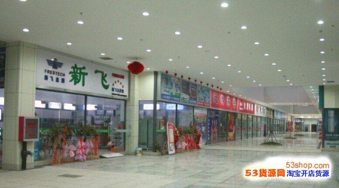 河北边鑫港国际电气城外面部环境