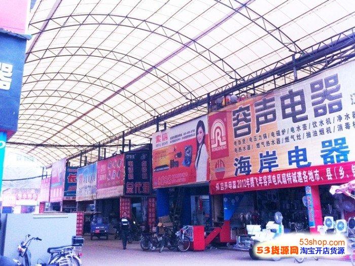 南昌省家电市场位于江西省南昌市建设西路628号,在南昌知名的洪城大市场内。主要以经营品牌小家电及厨卫产品为主,南昌经营小家电及厨卫产品的经销商主要集中于此,是南昌市场规模最大、产品最齐全、具有一定专业性的专业家电批发市场,汇集了250家国内外企业知名小家电品牌,多为品牌家电的区域经销商,批零兼营,主要以批发为主。