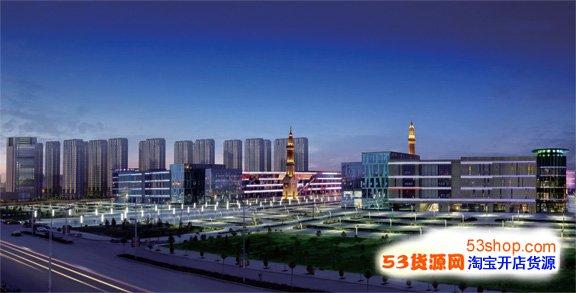 中国穆斯林国际商贸城夜景