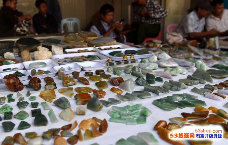 翡翠原矿、翡翠客制化、翡翠精品、翡翠雕件、翡翠裸石批发业务