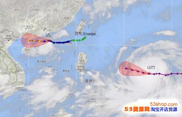 2018台风地脊竹影响范畴 对广东方拥有什么影响